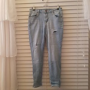 Ankle jeans